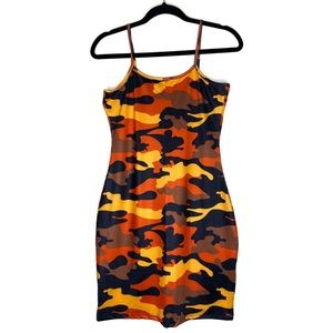 Dresses & Skirts - CAMOUFLAGE PRINT DRESS